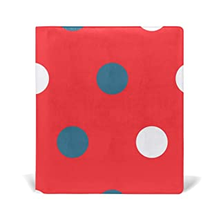 Deziro Dots pattern Book Covers Fits Hardcover Textbooks fino a 9x 11in