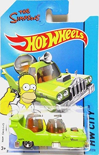 (2014 Hot Wheels Hw City the Simpsons - the Homer)