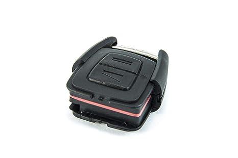 TOOGOO Llave remota del Coche de 3 Botones para Vauxhall Opel Vectra C Astra H Zafira B 2005 2006 2007 2008 2009 2010 434Mhz PCF7946 Chip