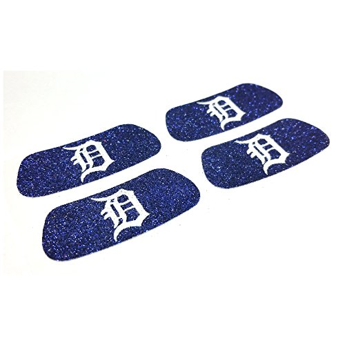 EyeBlack Detroit Tigers MLB Glitter Strips, Perfect for Game Day and Tailgate (4 Pairs/8 Strips)