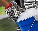 Mothers Premium Chenille Car Wash Mitt - Scratch & Lint Free