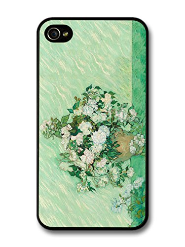Vincent Van Gogh Roses Painting Artist Art Vintage case for iPhone 4 4S