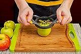 Deiss ART Apple Slicer & Corer Set - Cutter, Wedger, Divider - Razor-sharp Stainless Steel Blades with Ergonomic Non-Slip Handles - Durable Construction - Dishwasher Safe