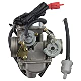 gy6 engine parts - GOOFIT PD24J Carburetor for GY6 150cc ATV Scooter 157QMJ Engine