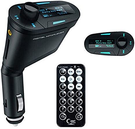 Bluetooth Car Kit MP3 Player FM Transmitter Wireless Handsfree LCD USB Charger