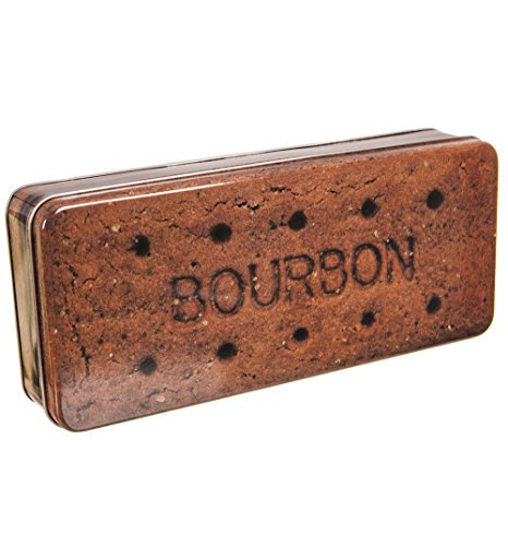 Rectangular Bourbon Biscuit Tin