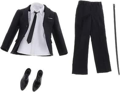 Amazon.es: P Prettyia 1/6 Kits Traje de Vestir Pantalones Casuales ...