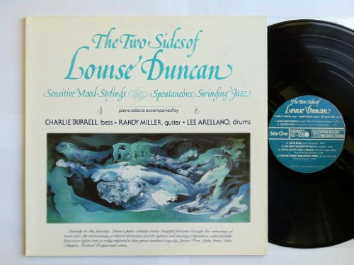 The Two Sides Of Louise Duncan: Sensitive Mood Stylings & Spontaneous Swinging Jazz VINYL LP – Paragon – - Paragon Sg
