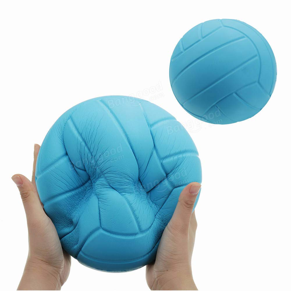 Huge Volleyball Squishy 8in 20CM Giant Slow Rising Toy Cartoon Gift Collection by Unknown
