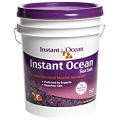 No matter what size your aquarium, Instant Ocean sea salts and water care products offer the smartest, easiest way to bring to ocean home. Our scientifically formulated sea salts are used exclusively by many of leading large-scale aquariums a...