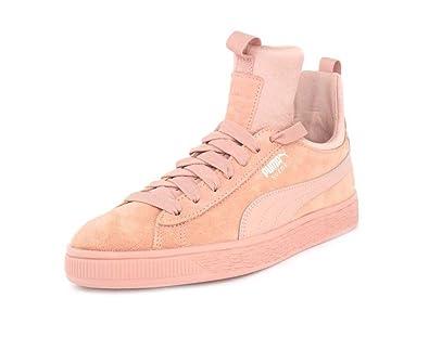 PUMA Womens Suede Fierce Peach Beige Peach Beige Sneaker - 6 700f01e7c