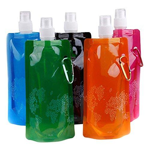 "UXTIS Travel Bottle & CupForTravel Drink & Eat Ware Plastic (3.99"" 1.69"" 0.77""(10.14cm4.29cm1.95cm)"