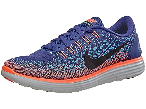 5e312f5fd1fc1 Galleon - Nike Womens Free RN Distance Running Shoe Dark Purple Dust Black Gamma  Blue 8.5