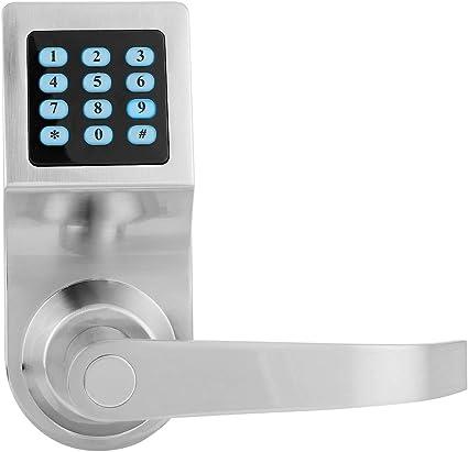Cerradura de puerta inteligente, teclado electrónico Seguridad codificada Cerradura de puerta in...
