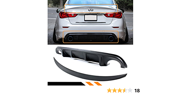 Color : Black XINGFUQY 2 Pcs Fit for Infiniti Q50 2014 2015 2016 2017 2018 Car Accessories Rear Trunk Tailgate Lift Support Struts Spring Shock Gas Strut