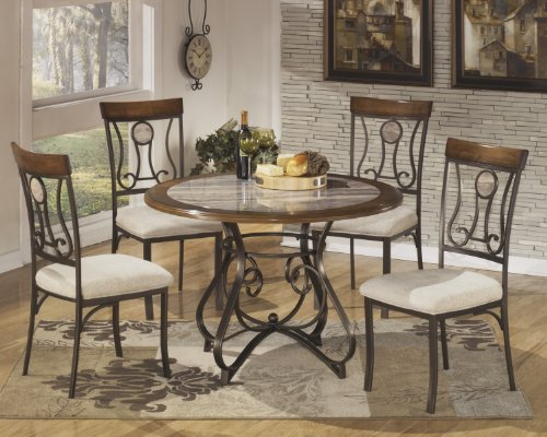 Hops 5pc Round Dining Table and Chair Set