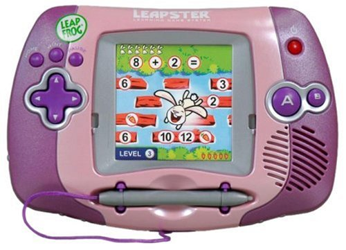 LeapFrog Leapster Learning Game System - Pink by LeapFrog