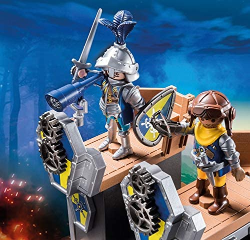 PLAYMOBIL Novelmore 70391 Mobile Katapultfestung, Für Kinder von 4-10 Jahren