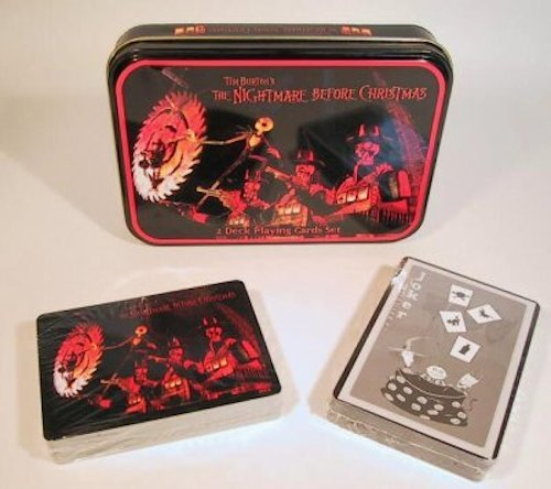 Neca Nightmare Before Christmas Playing Card Set in -