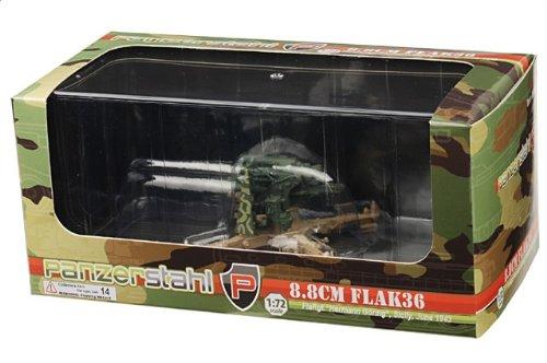 1:72 装甲車stahl ディスプレイ アーマー 88042 クルップ 88mm FlaK 武装 ディスプレイ モデル ドイツ軍 Hermann Goring Div Sicily 1943【並行輸
