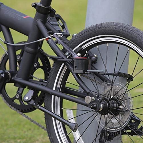 JLDSFPP Aleación De Cinc Cerradura De Bicicleta Abs Anti-Robo 83 ...