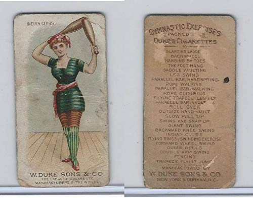 - N77 Duke, Gymnastic Exercises, 1887, Indian Clubs