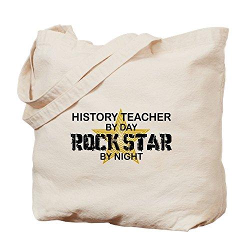 Profesor de historia CafePress–Rock Star–Gamuza de bolsa de lona bolsa, bolsa de la compra