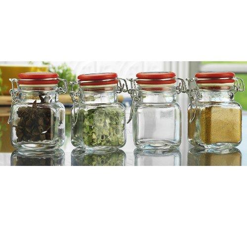 SET OF 4 HERMED SPICE JAR