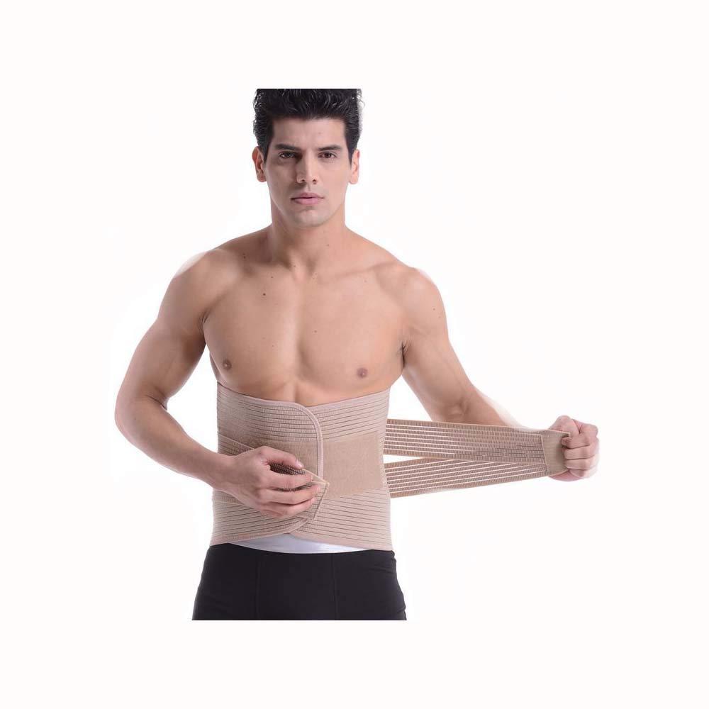 HONGNA Men and Women Black MultiFunctional Breathable Sports Belt Widened Belt Training Massage Belt (Size   M)