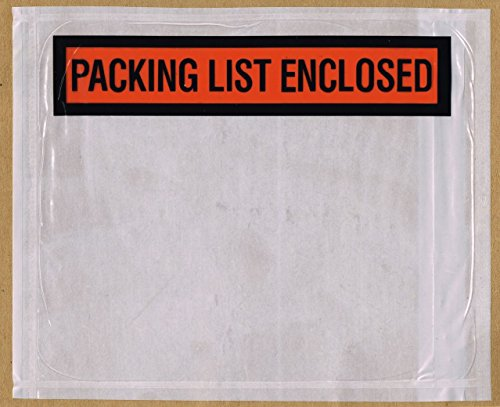 1000 - 7'' X 5.5'' - Packing List Enclosed Envelopes by POSTUFF