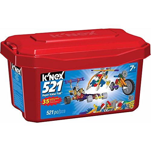 K'NEX 521 Piece Value Tub