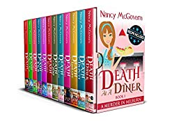 A Murder In Milburn, The Complete Series: 12 Book Box Set With Delicious Recipes by [McGovern, Nancy]