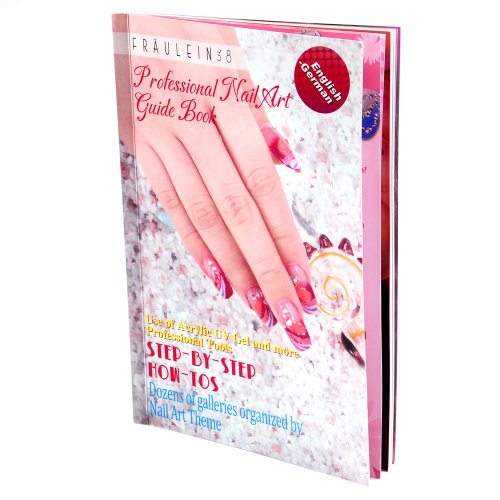 DIY Nail Art 3D UV Gel Acrylic Nails Glitters Painting Designs Step-by-step Instructions Guide Book New (Easy Nail Art Step By Step Designs)