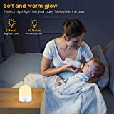 Portable LED Night Light with Sensor Touch Control