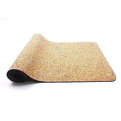 Amazon.com : QAR Yoga Mat 6mm Eco Friendly Fitness Mat Yoga ...