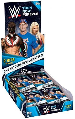 Wrestling Hobby Box (2017 Topps WWE Wrestling Then Now and Forever Wrestling Hobby Box 168 Cards)