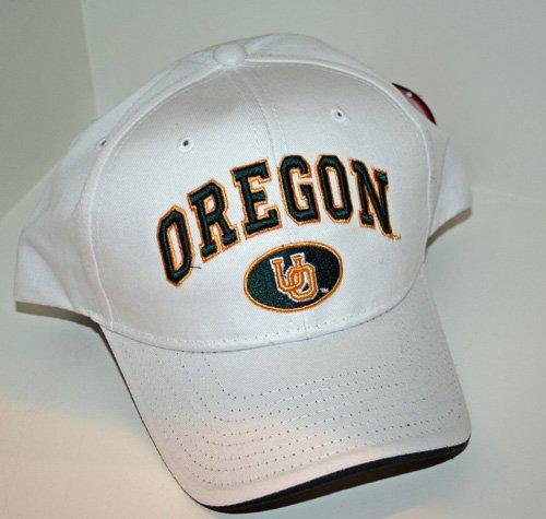 Oregon Ducks White Sport Hat