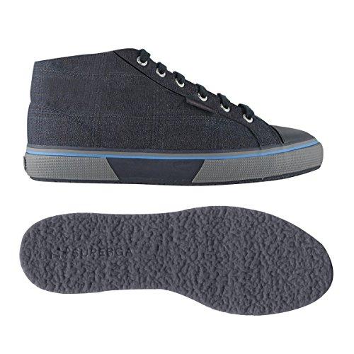 Superga Scarpe Le grey fabricgallesfglm Blue 2754 fqAxgY7
