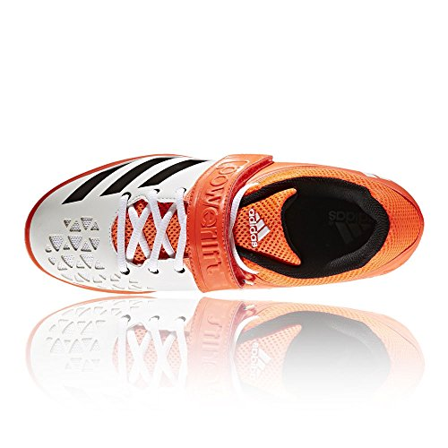 Adidas 3 Vqiicw4f Chaussures Indoor Multisport Homme Orange Powerlift AL34Rjq5