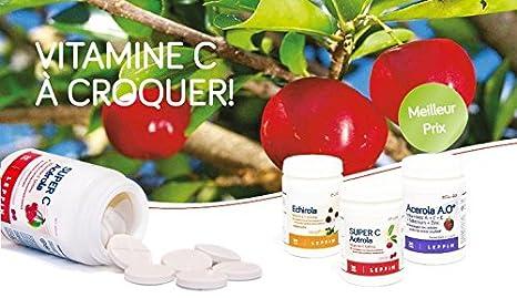 Leppin - Super C acérola 500 mg 50 Pastillas de sucer AU sabor frambuesa - Vitamina C Forte - Antioxidante - Suplemento naturales: Amazon.es: Salud y ...