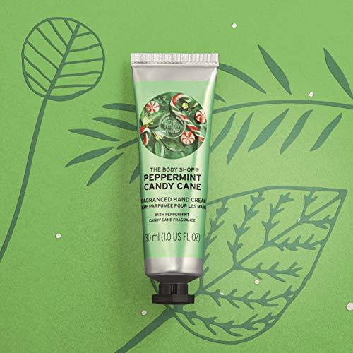 The Body Shop Peppermint Candy Cane Hand Cream, 1 Fl Oz ()