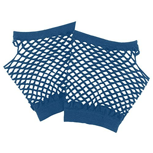 Amscan Short Fishnet Gloves, Party Accessory, Blue]()