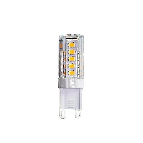 Homyl Reemplazo Bombillas G9 LED 5W para Luz Bulbo de Iluminaación Hoguera 40W Amarillo