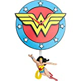 "Wonder Woman, 3D Motion Wall Clock, size 44"" x 19"" x 7"", birthday gift, collection gift."