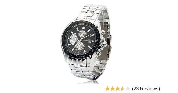c5e3dd3215a0 Amazon.com  Relojes De Hombre Curren - Relojes Deportivos De Lujo Acero  Inoxidable - El Regalo Perfecto - 100% Garantizado  Curren  Watches