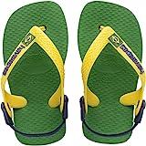 Havaianas Brasil Logo, Unisex Babies' Standing Baby Sandals, Green (Green 2703), 8.5 Child UK (27/28 EU) (25/26 BR) Bild