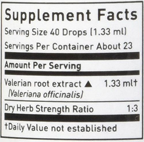 Valerian Root Extract No Alchohol - 1 oz - Liquid by Gaia Herbs (Image #1)