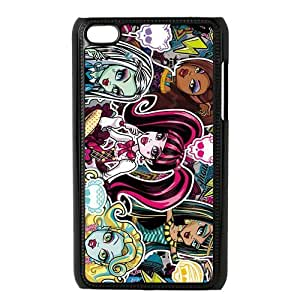 Customiz Cartoon Game Monster High Back Case for ipod Touch 4 JNIPOD4-1402