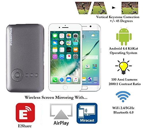Pocket Pico Mobile Projector, Android Operating System