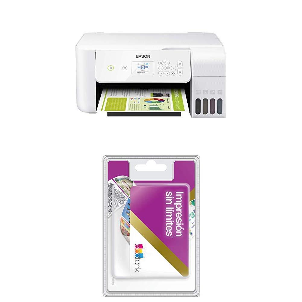 EcoTank ET-2726 + Tarjeta Tinta ilimitada: Amazon.es: Informática